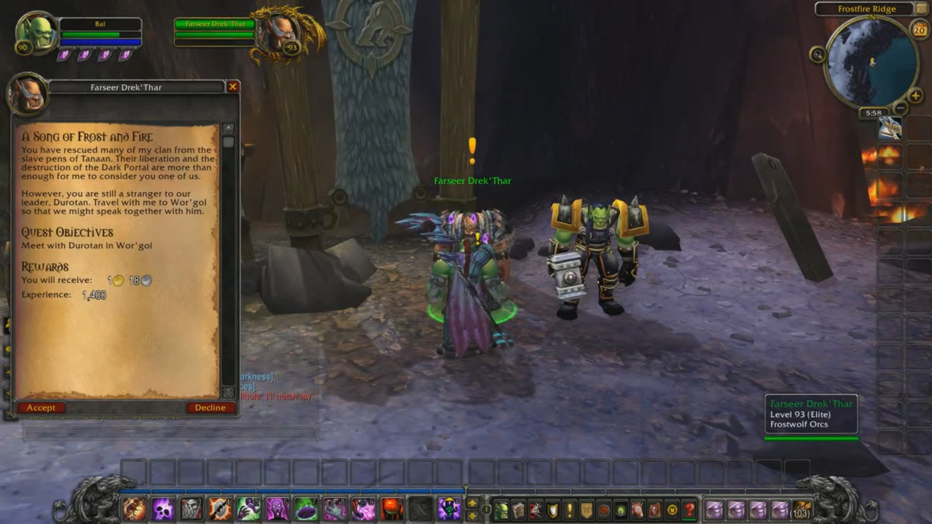 World of warcraft orc speak porn pictures