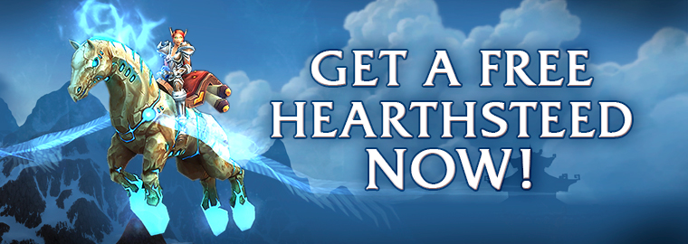 Play Hearthstone and get a Hearthsteed for World of Warcraft