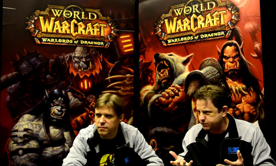pax-east-2014-warlords-of-draenor-Kris-Zierhut-and-Steve-Burke