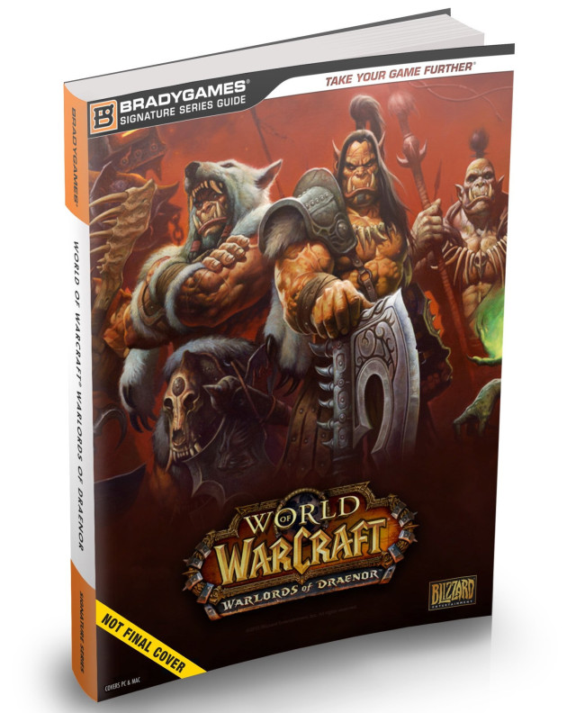 bradygames-world-of-warcraft-warlords-of-dranor-signature-series-guide-cover