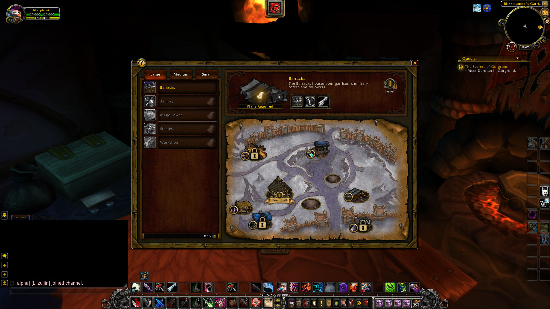 Garrison buildings guide warlords of draenor blizzplanet warcraft garrison building ui malvernweather Image collections