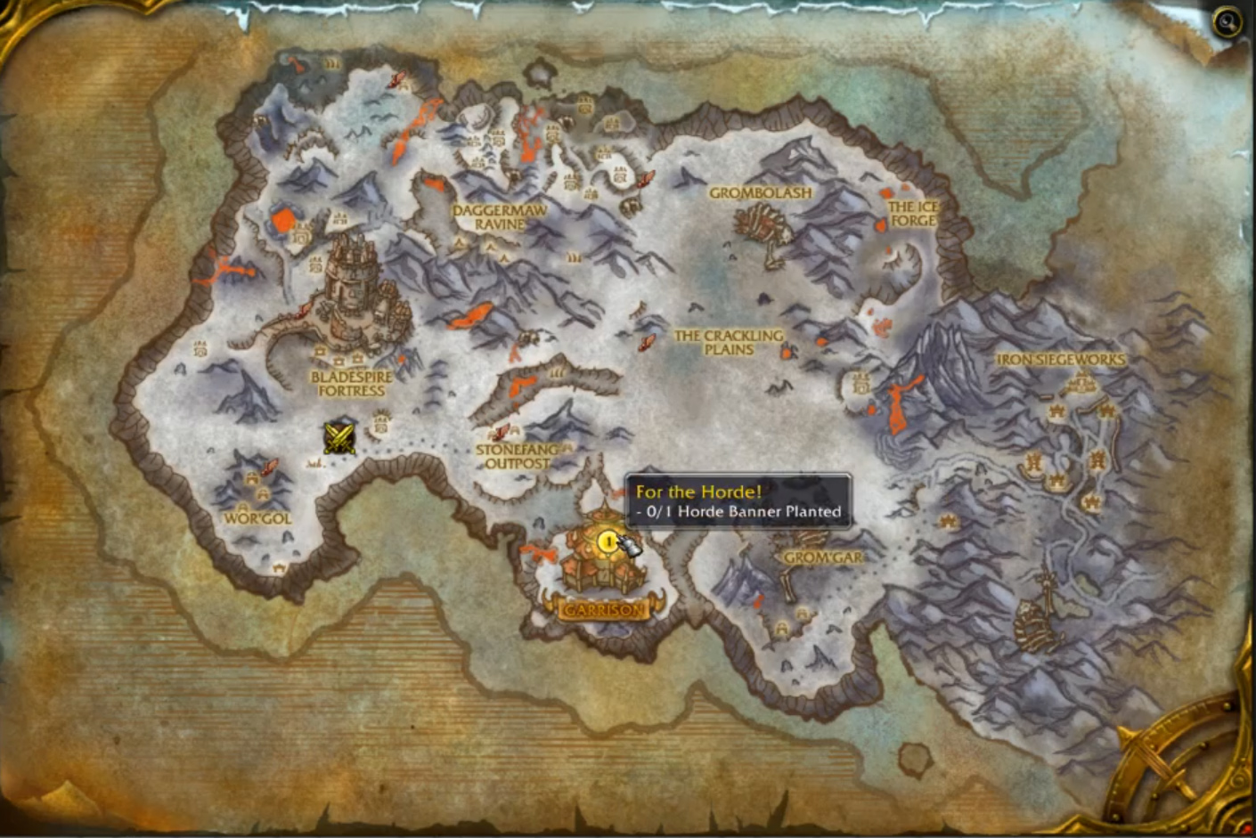 Draenor Map mall at millenia map cmc map on