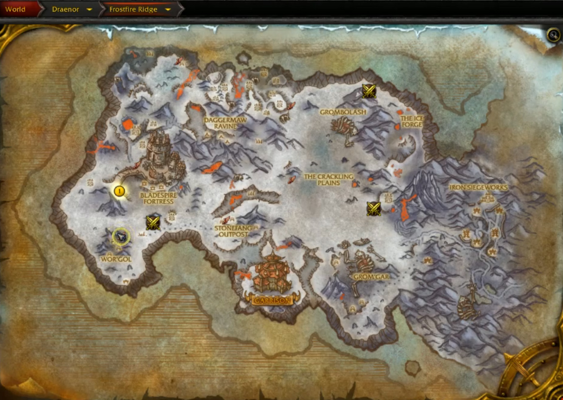 warlords-of-draenor-gormaul-watch-1 - Blizzplanet | Warcraft on duskwood map, wow kalimdor map, frostfire ridge map, world of warcraft world map, wow zeppelin map, ghostlands map, dalaran map, khaz modan map, silver moon city world map, tanaan jungle map, warcraft zone map,