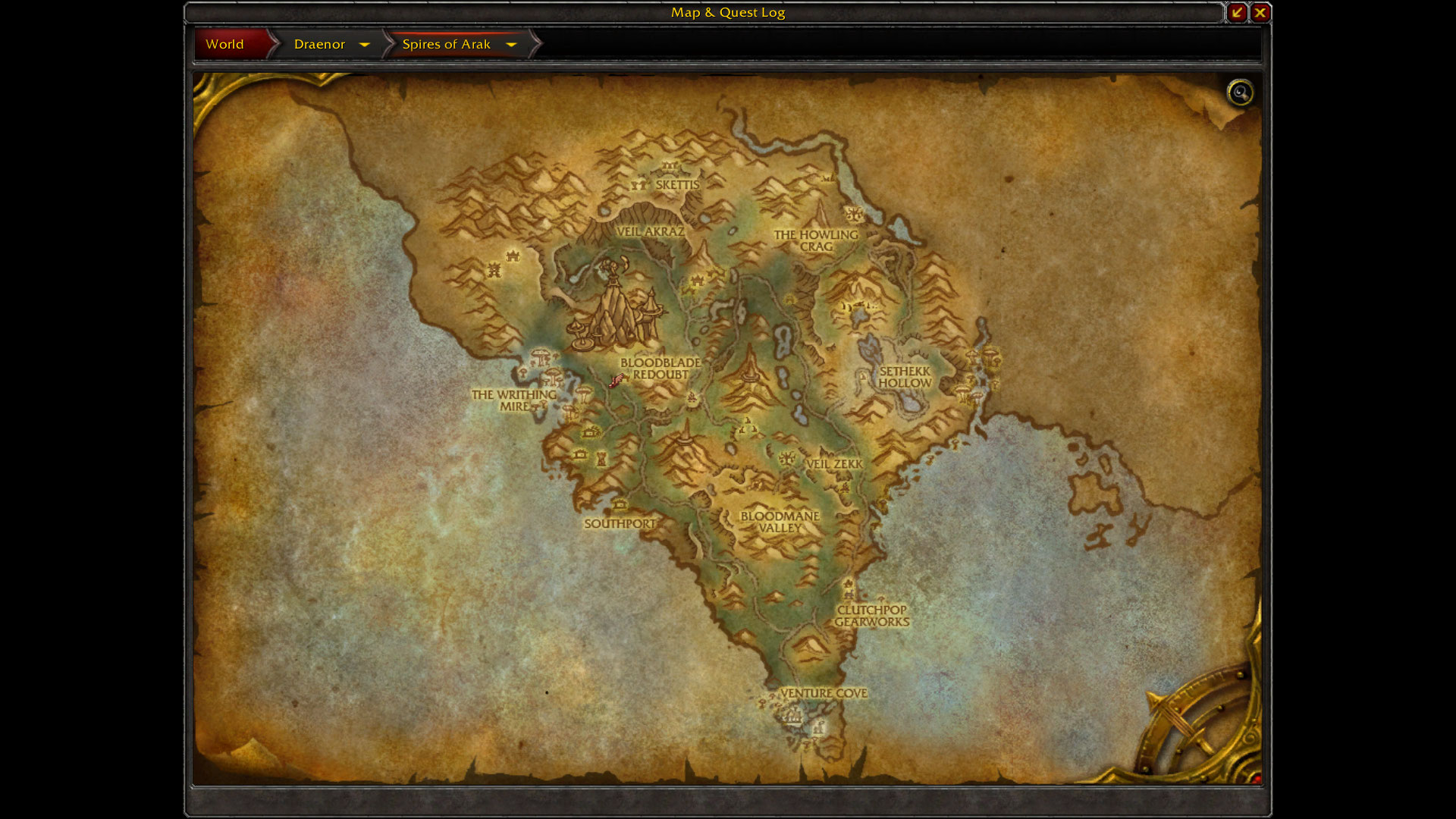 World of warcraft warlords of draenor alpha build 18471 for Where is terrace
