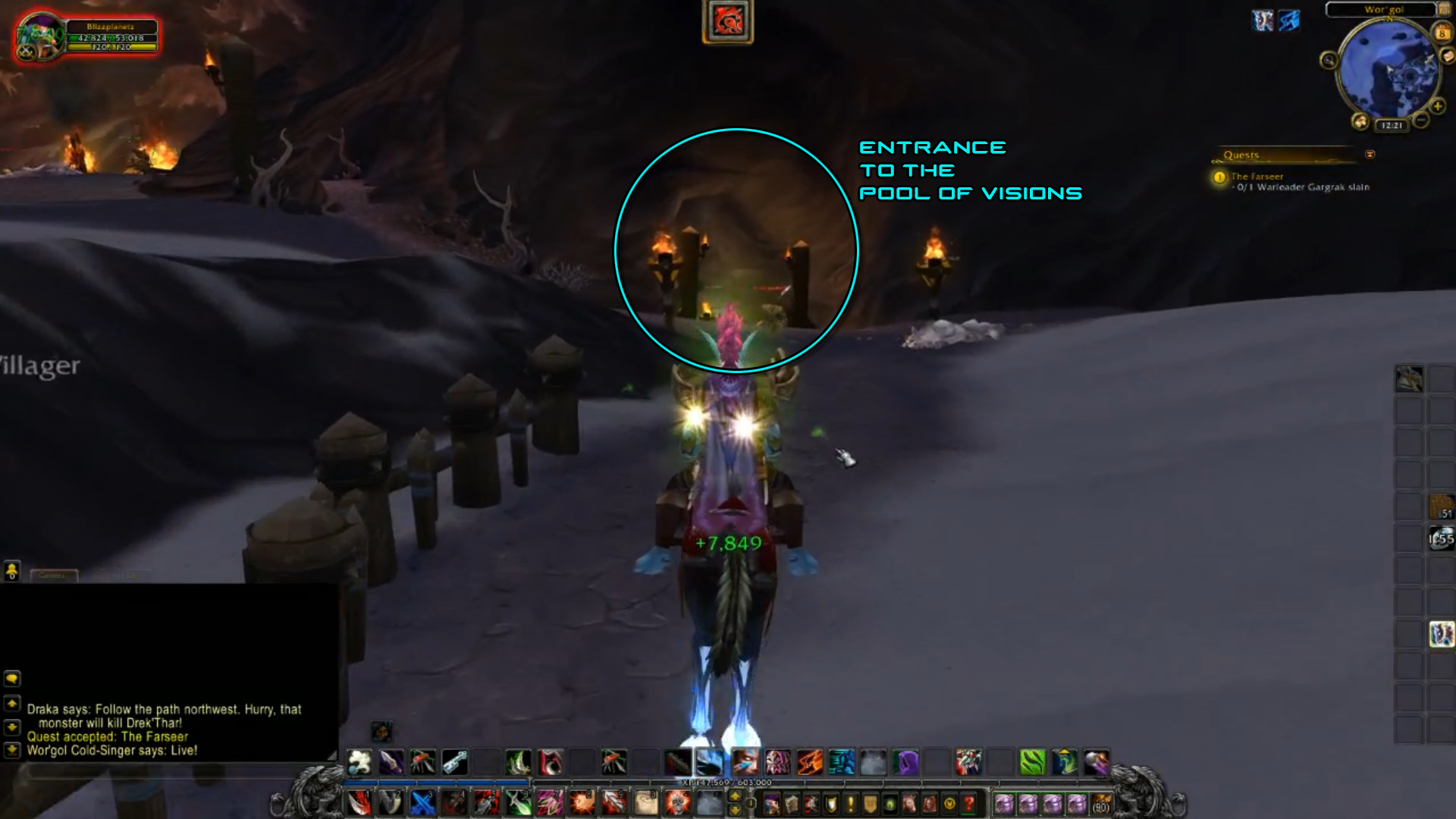 wow how to start warlords of draenor