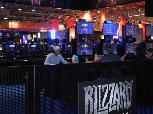 Blizzard demo stations