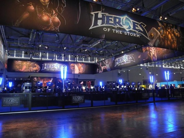 Heroes of the Storm booth