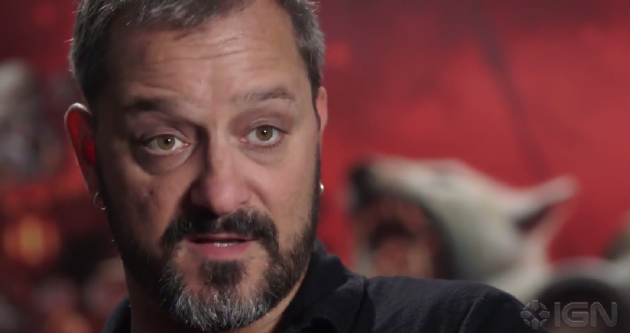 Metzen Behind the scenes