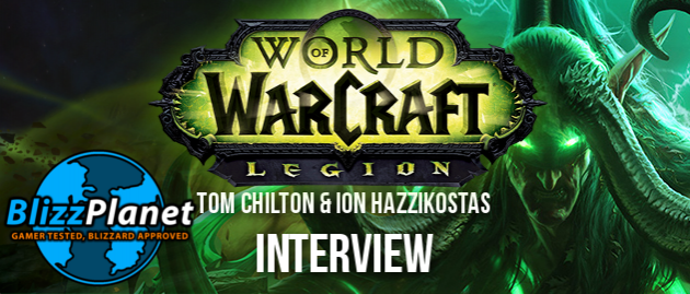 Gamescom 2015 World of Warcraft : Legion interview with Tom Chilton & Ion Hazzikostas