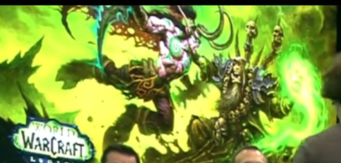 Illidan Gul'dan Legion artwork