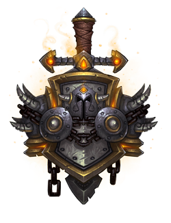 Warrior Crest Warcraft