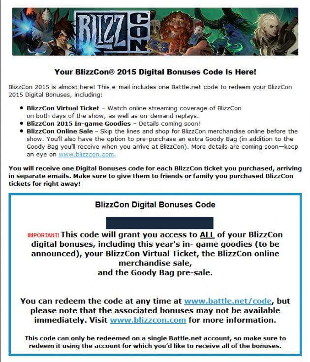 blizzcon-2015-ticket-digital-bonus-code