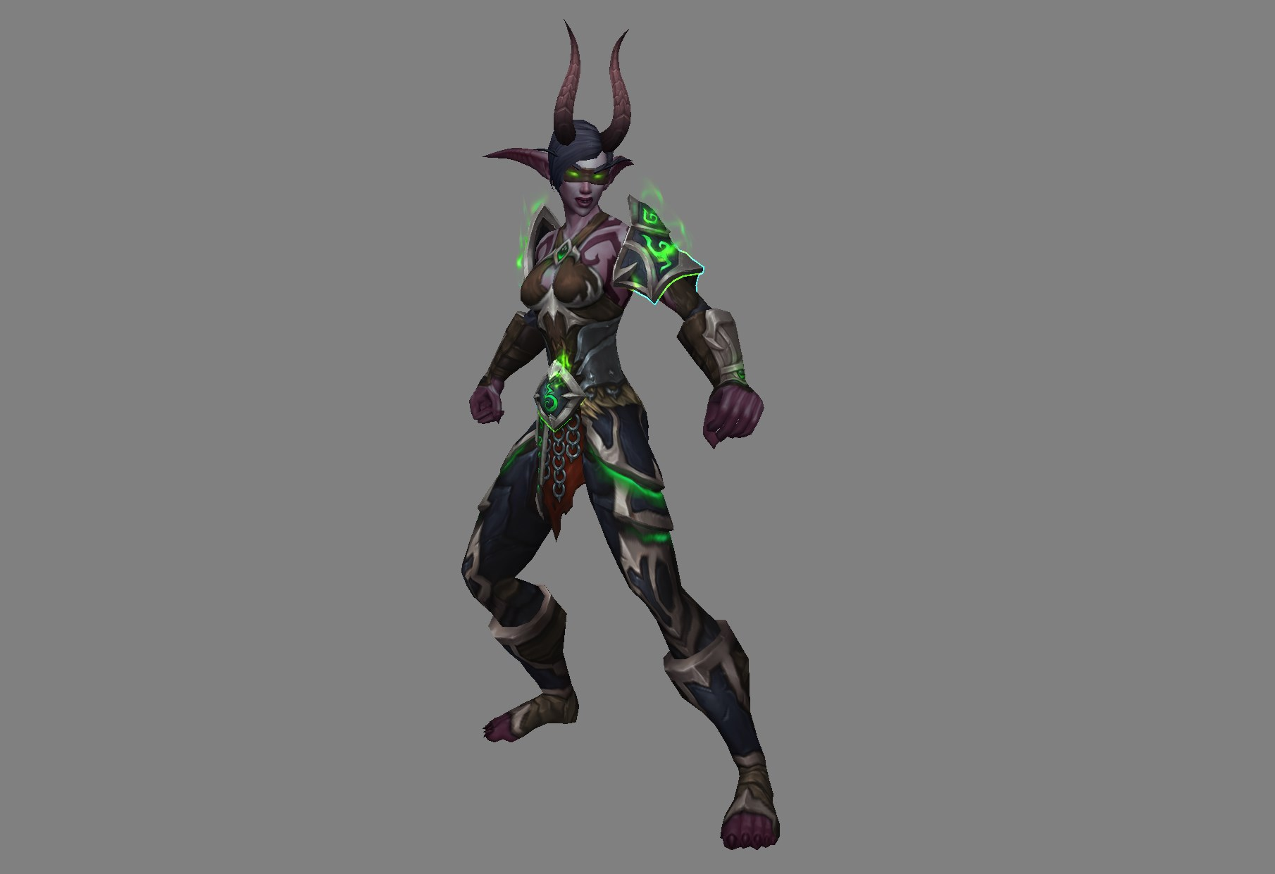 world-of-warcraft-legion-DH-NE-Armor-Female-02 - Blizzplanet
