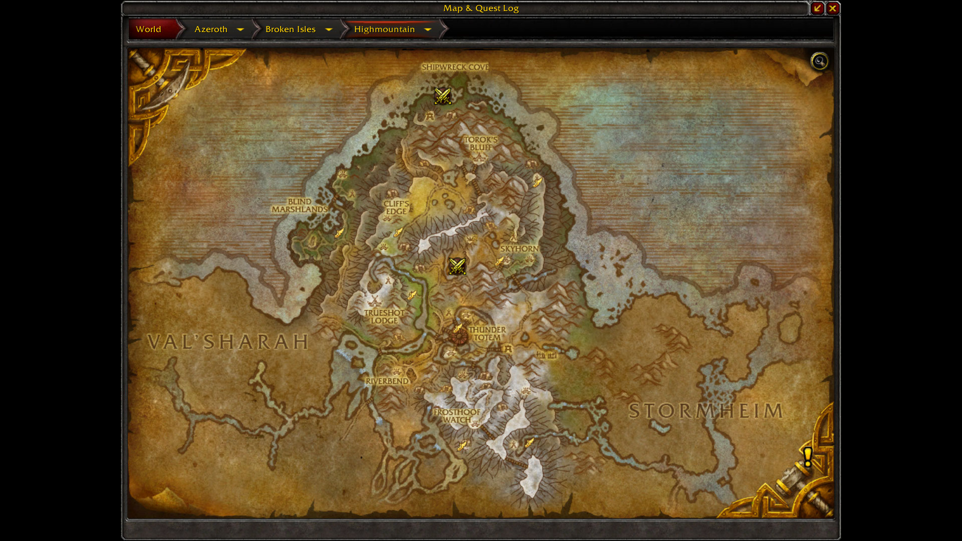 Legion World Map.World Of Warcraft Legion Maps Blizzplanet Warcraft