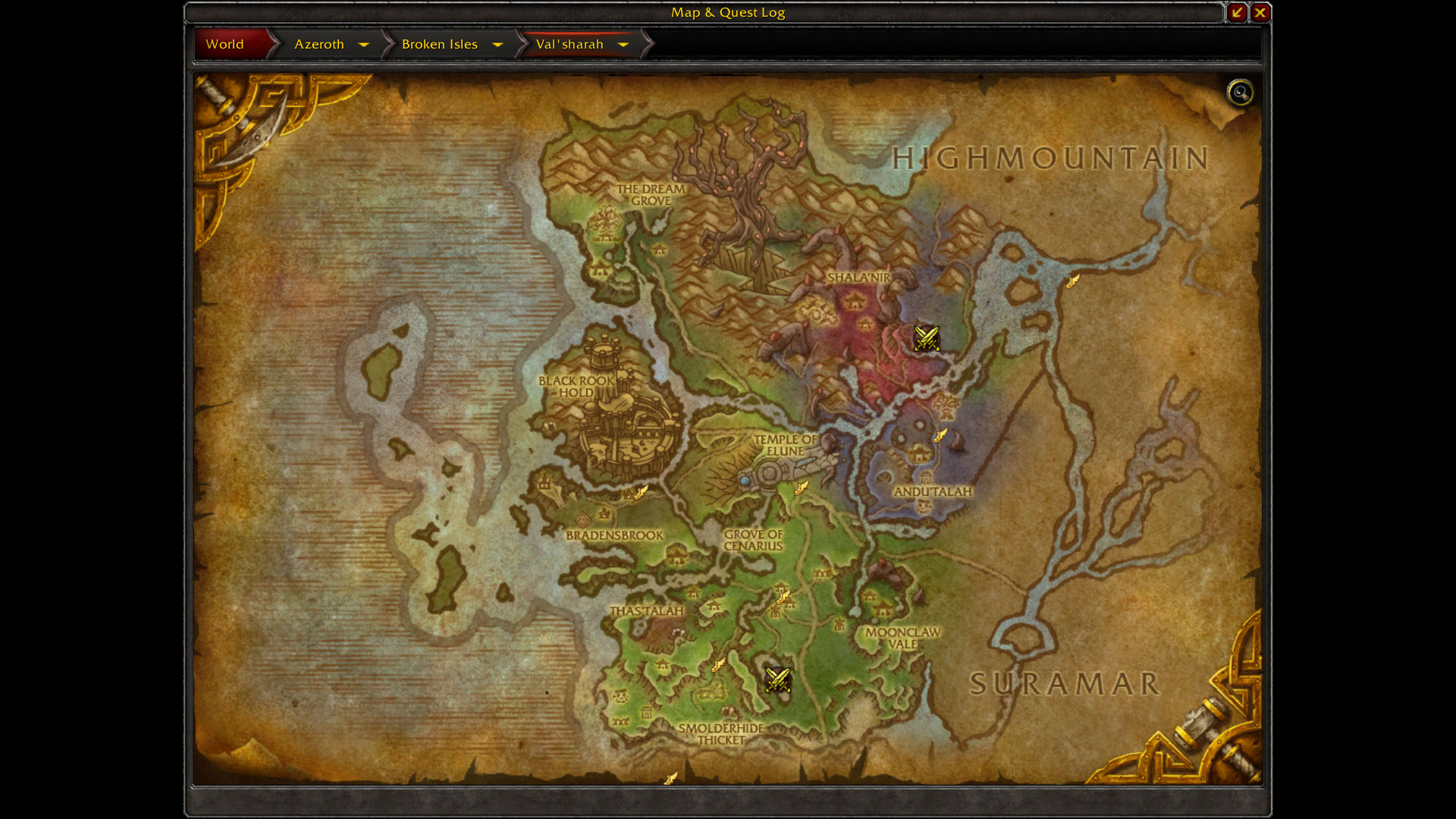 Map fuck warcraft xxx scene