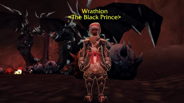 wrathion in vault of neltharion