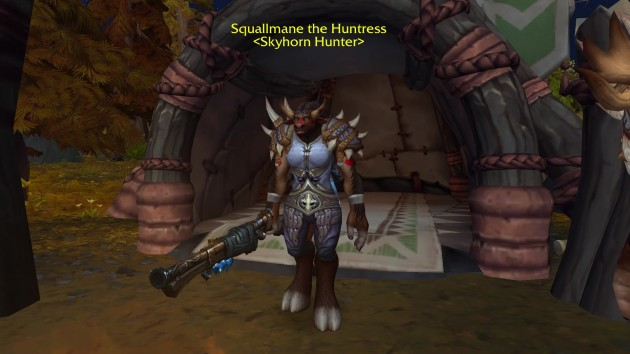 squallmane the huntress