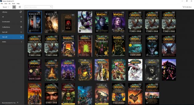 KINDLE-all-warcraft-books