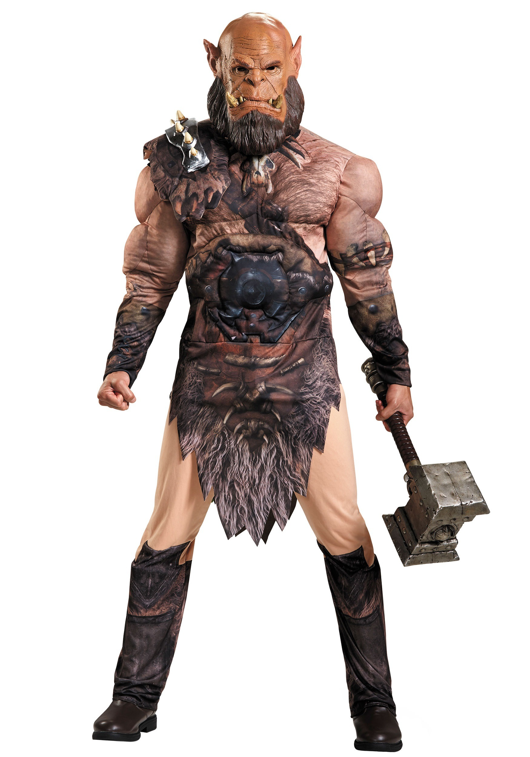 adult orgrim muscle costume - Triple H Halloween Costume