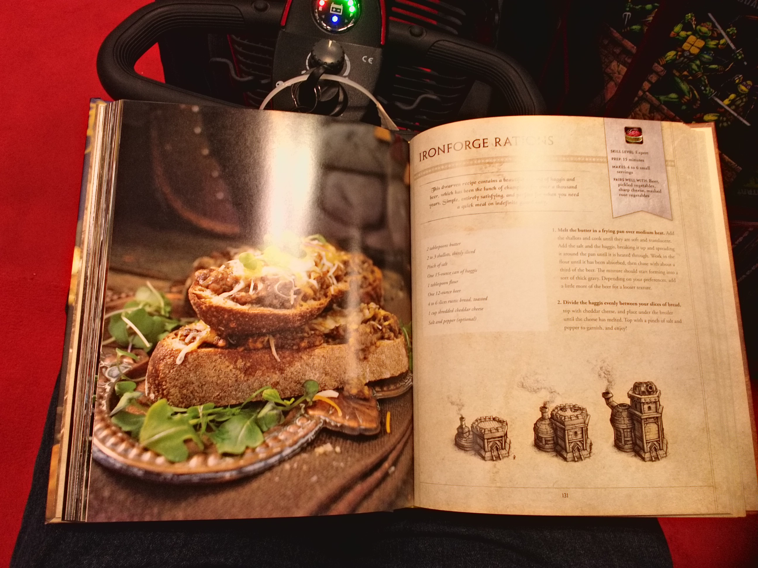 Nycc 2016 book signing world of warcraft the official cookbook nycc 2016 book signing world of warcraft the official cookbook forumfinder Images