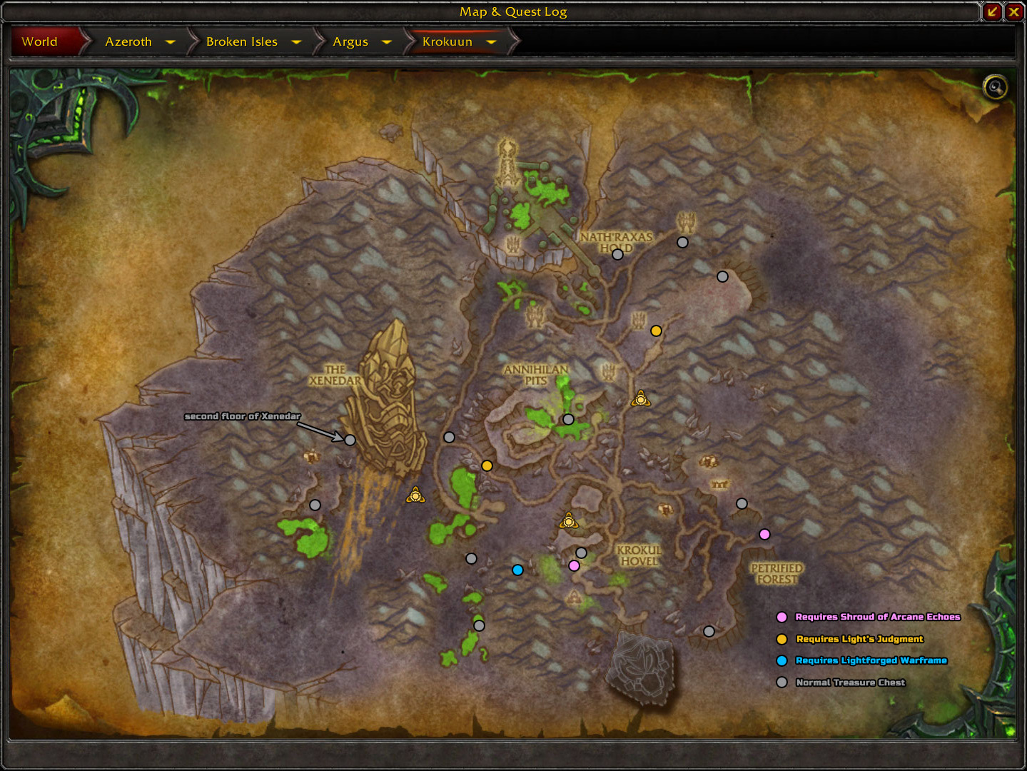 patch 7 3 the augari treasure chests blizzplanet warcraft