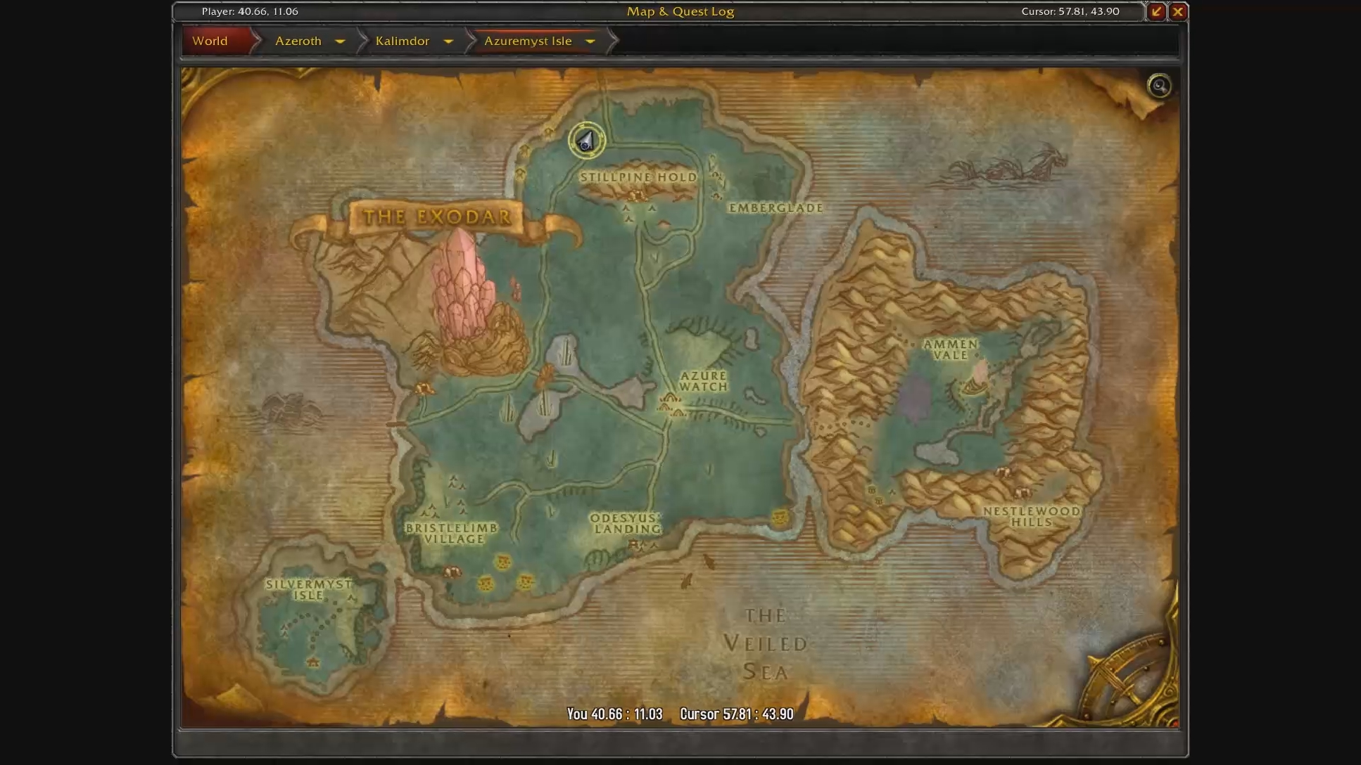 How do Horde get to Bloodmyst Isle? - MMO-Champion
