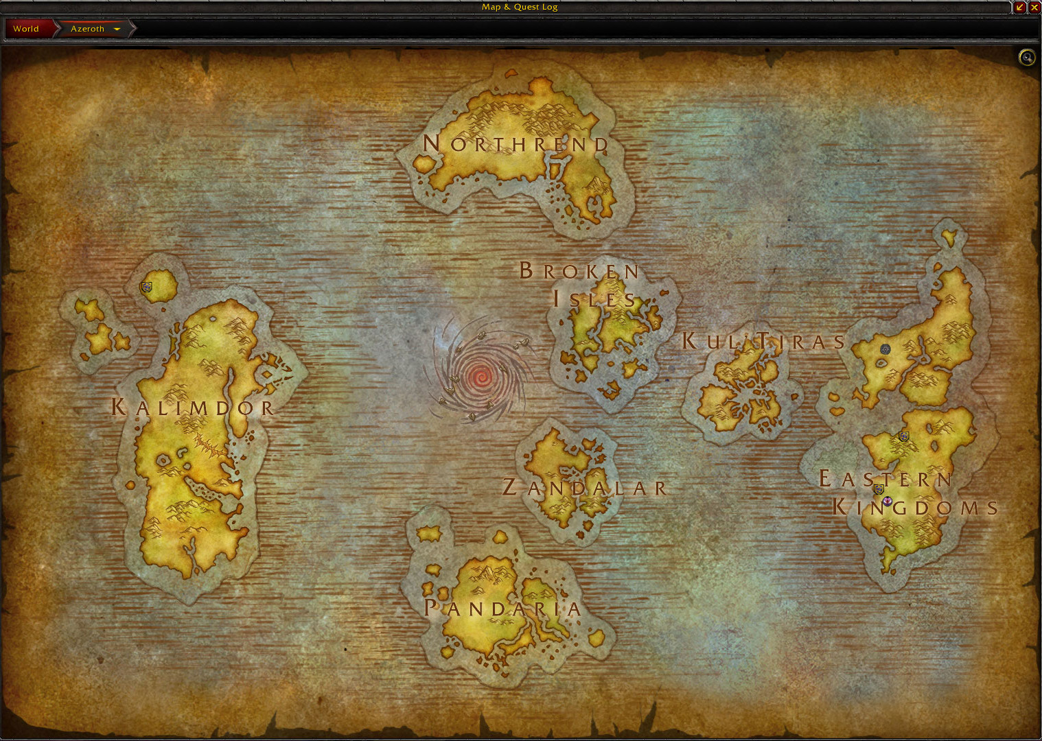 Battle for Azeroth Maps   Blizzpla| Warcraft