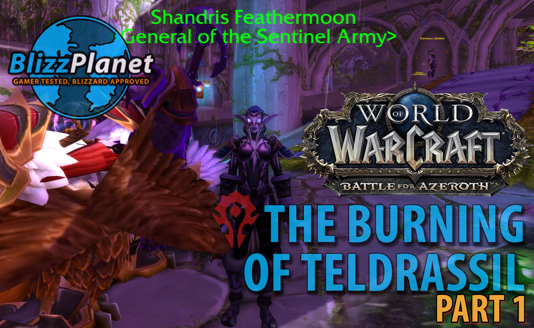 The Burning of Teldrassil