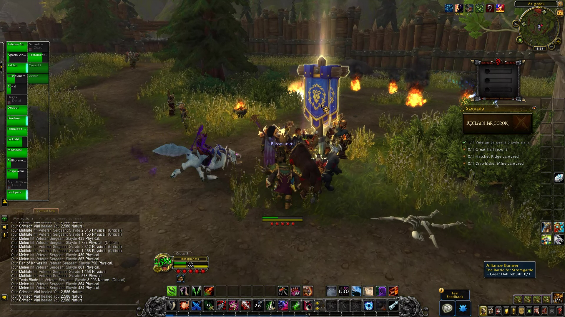 Battle for Azeroth Alpha: War Fronts (Horde) Video - Blizzplanet