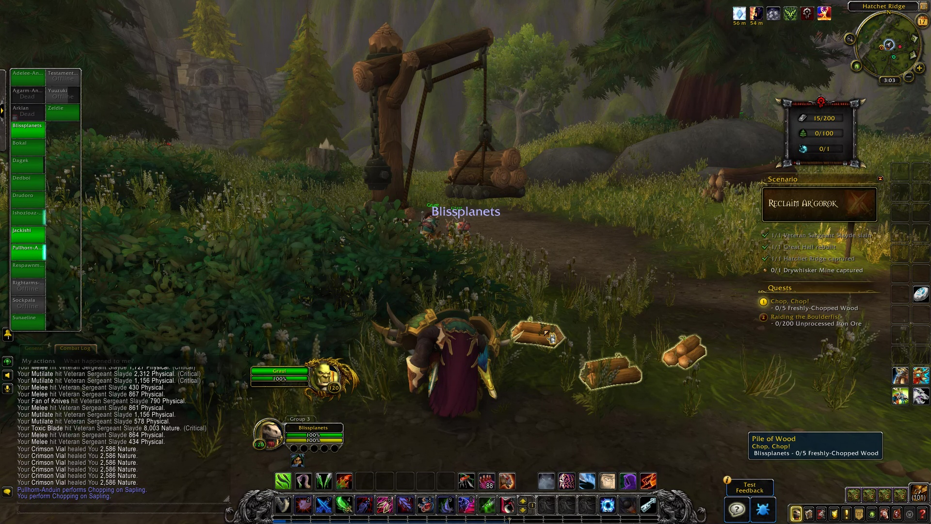 Battle for Azeroth Alpha: War Fronts (Horde) Video