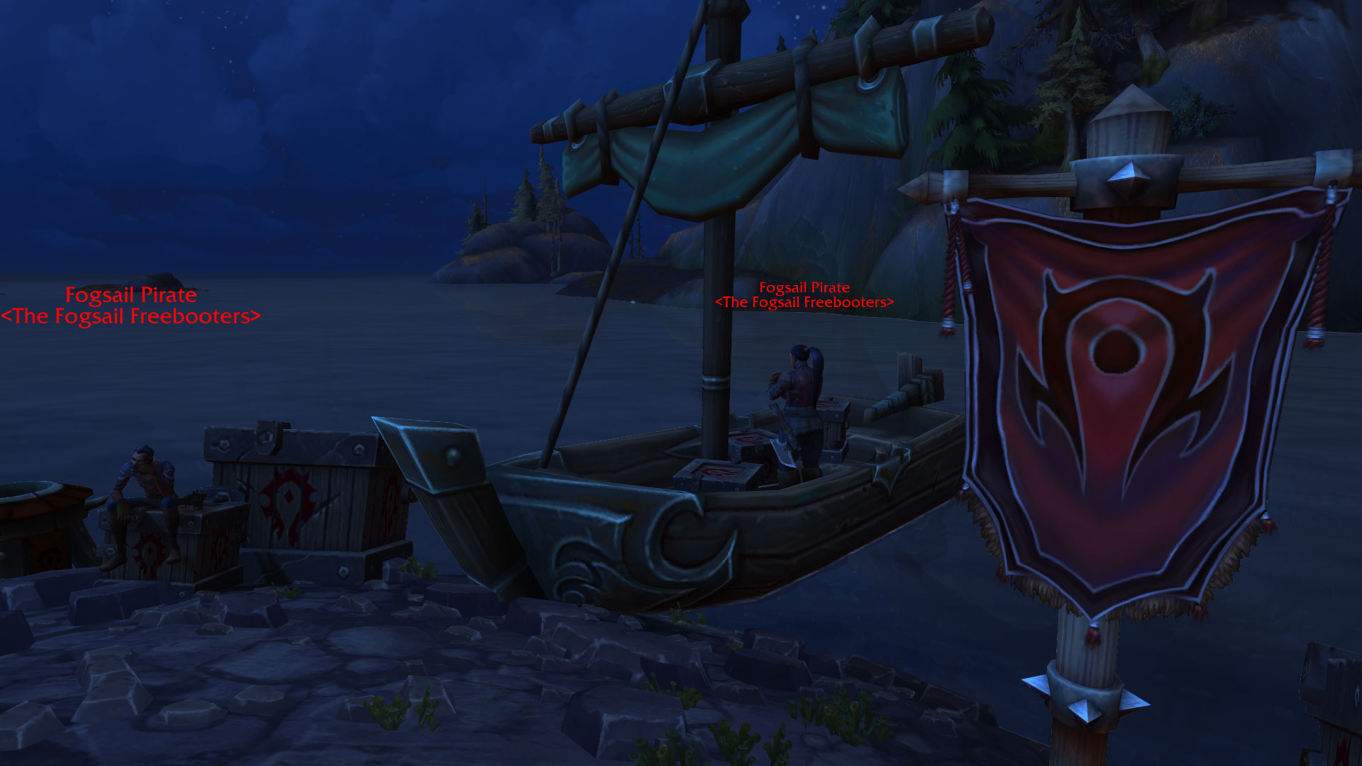 Kul Tiran Horde Pirates Cross-Faction Race