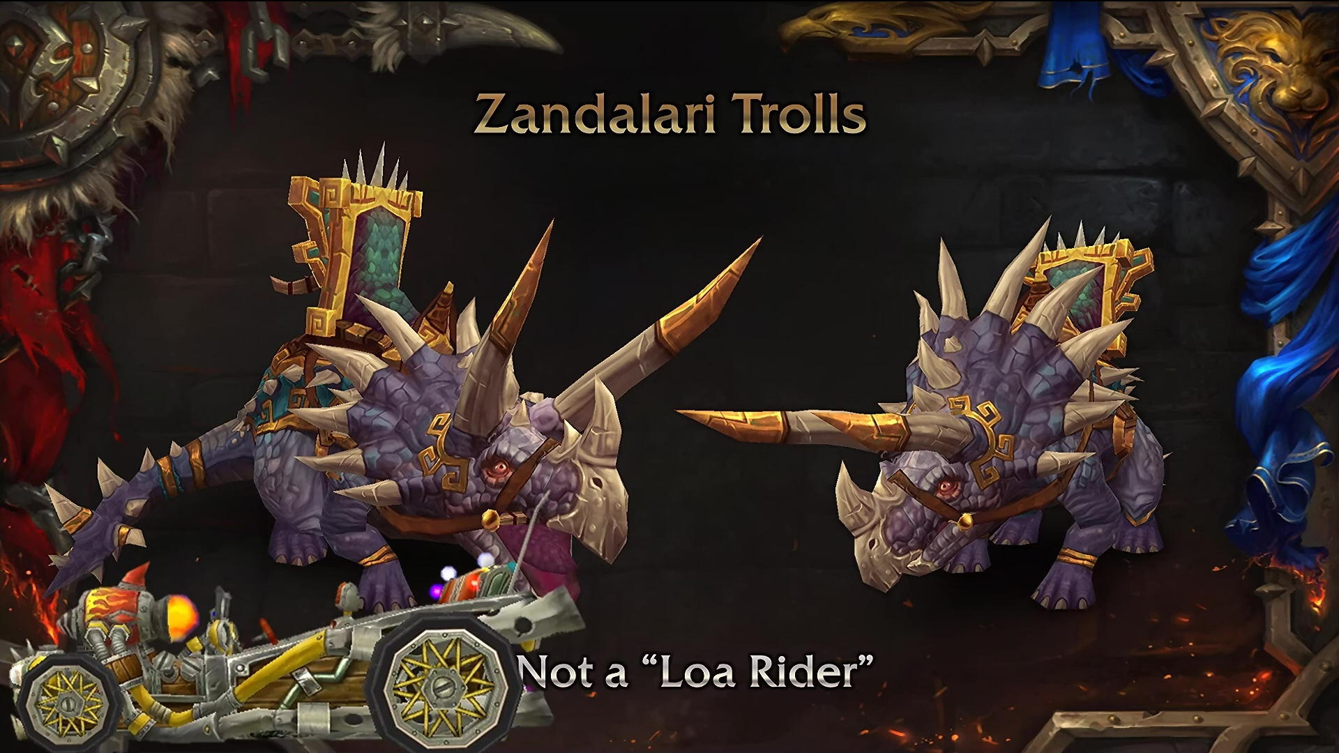 Zandalari mounts