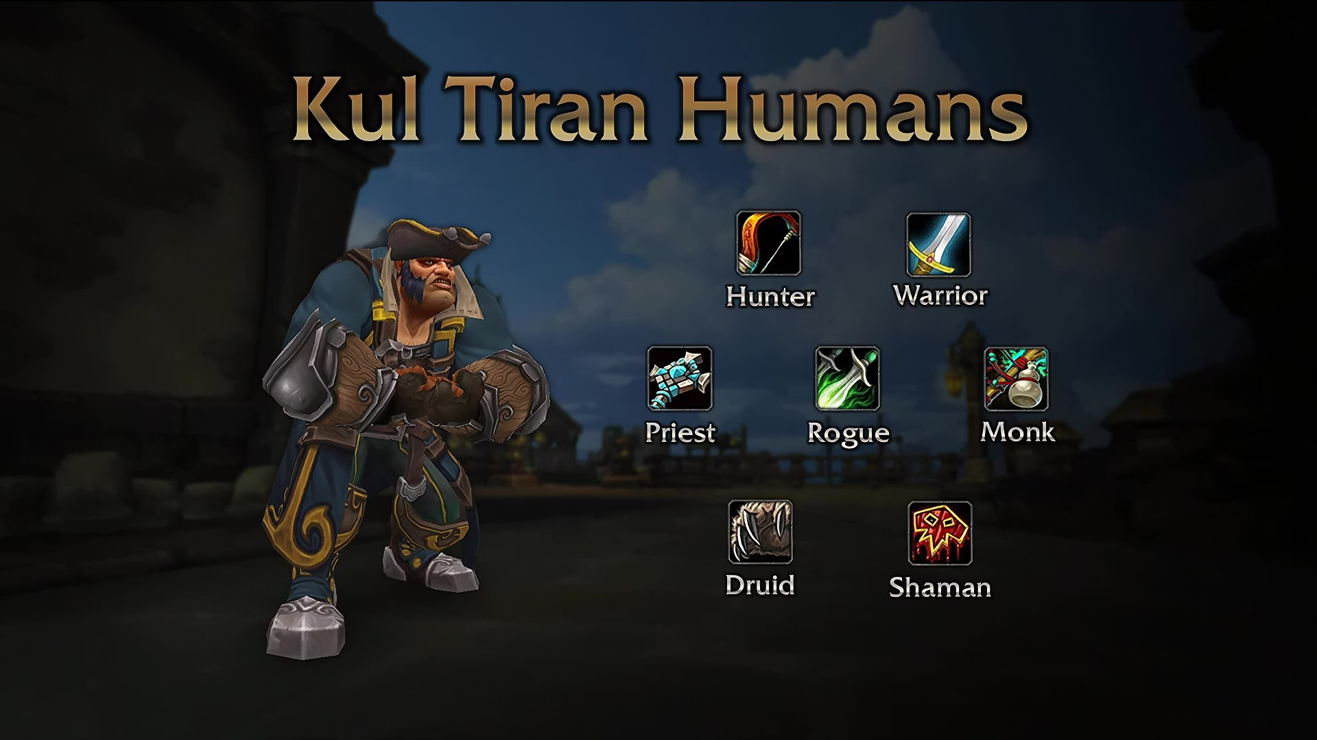 Kul Tiran classes