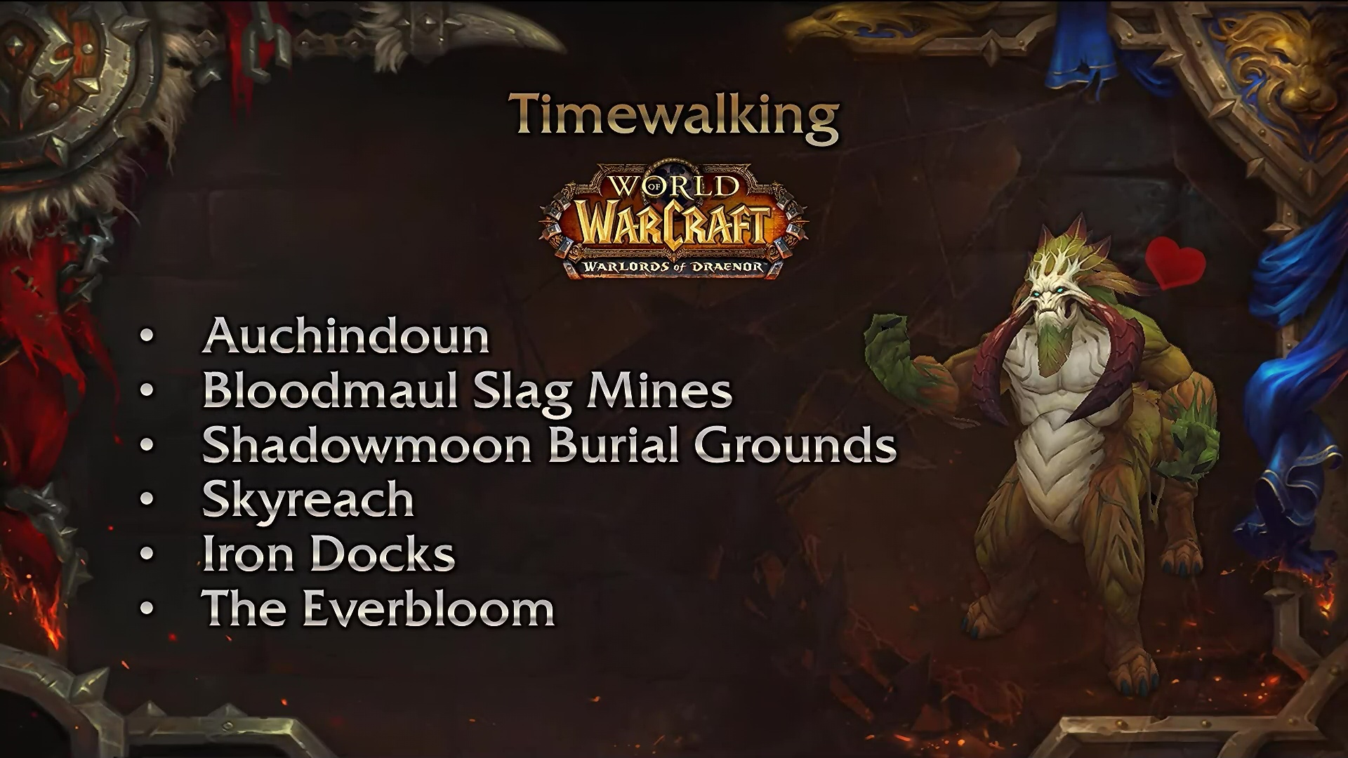 Timewalking Warlords of Draenor
