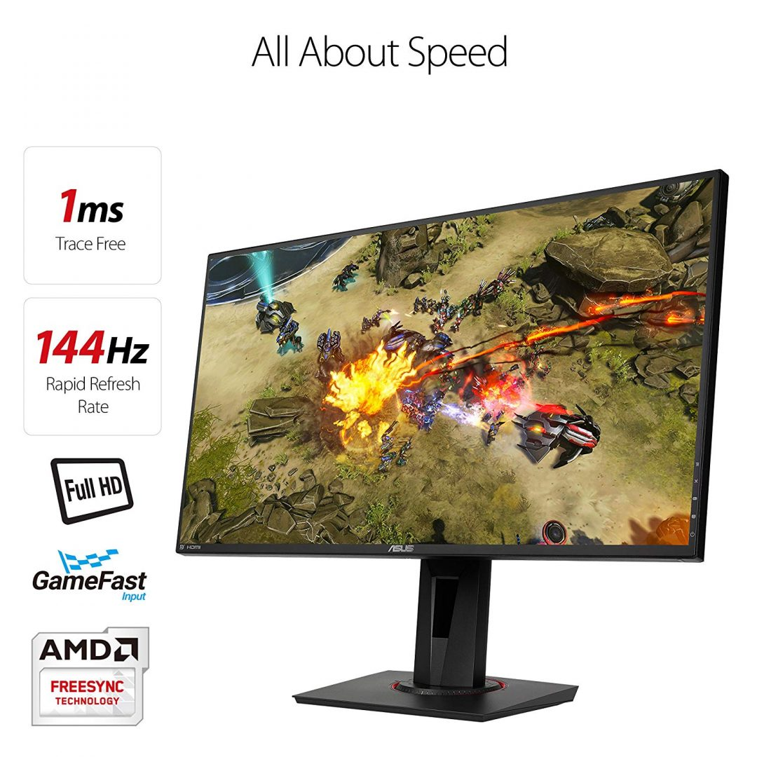 Gaming Monitors: Once you play 144Hz you won't go back