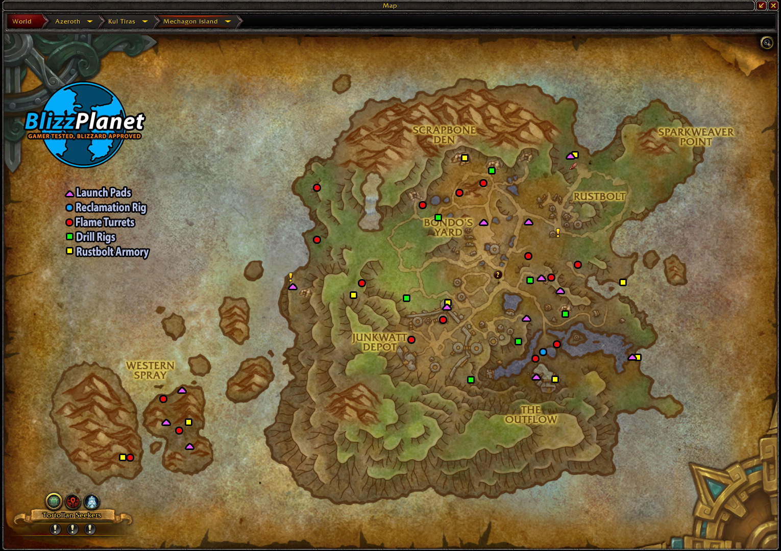 8.2 Mechagon: Construction Projects Map