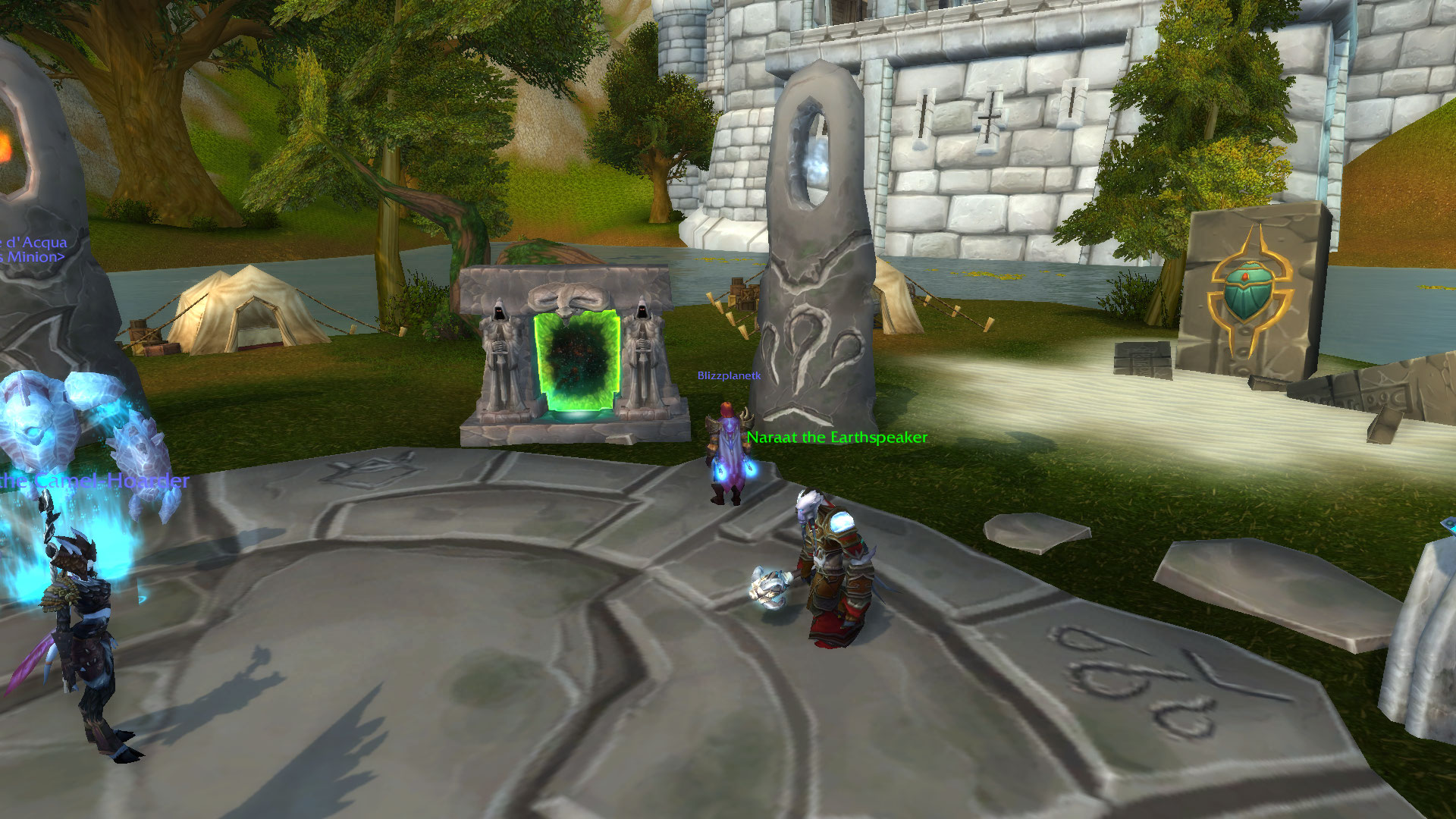 return to karazhan how to get to portal