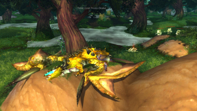 Time-Lost Proto-Drake in Warlords of Draenor