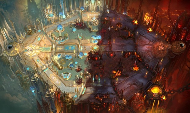 Heaven vs Hell map Heroes of the Storm
