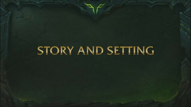 GamesCom 2015 World of Warcraft: Legion Story and Setting Transcript
