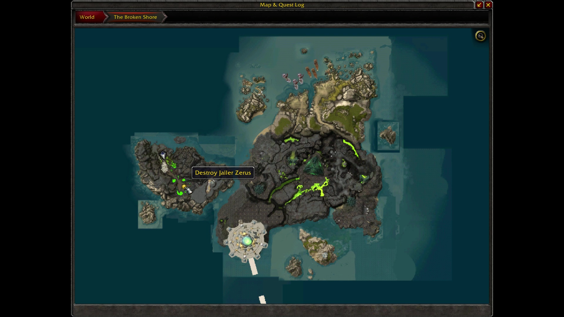 how to get to ashran from stormwind legion