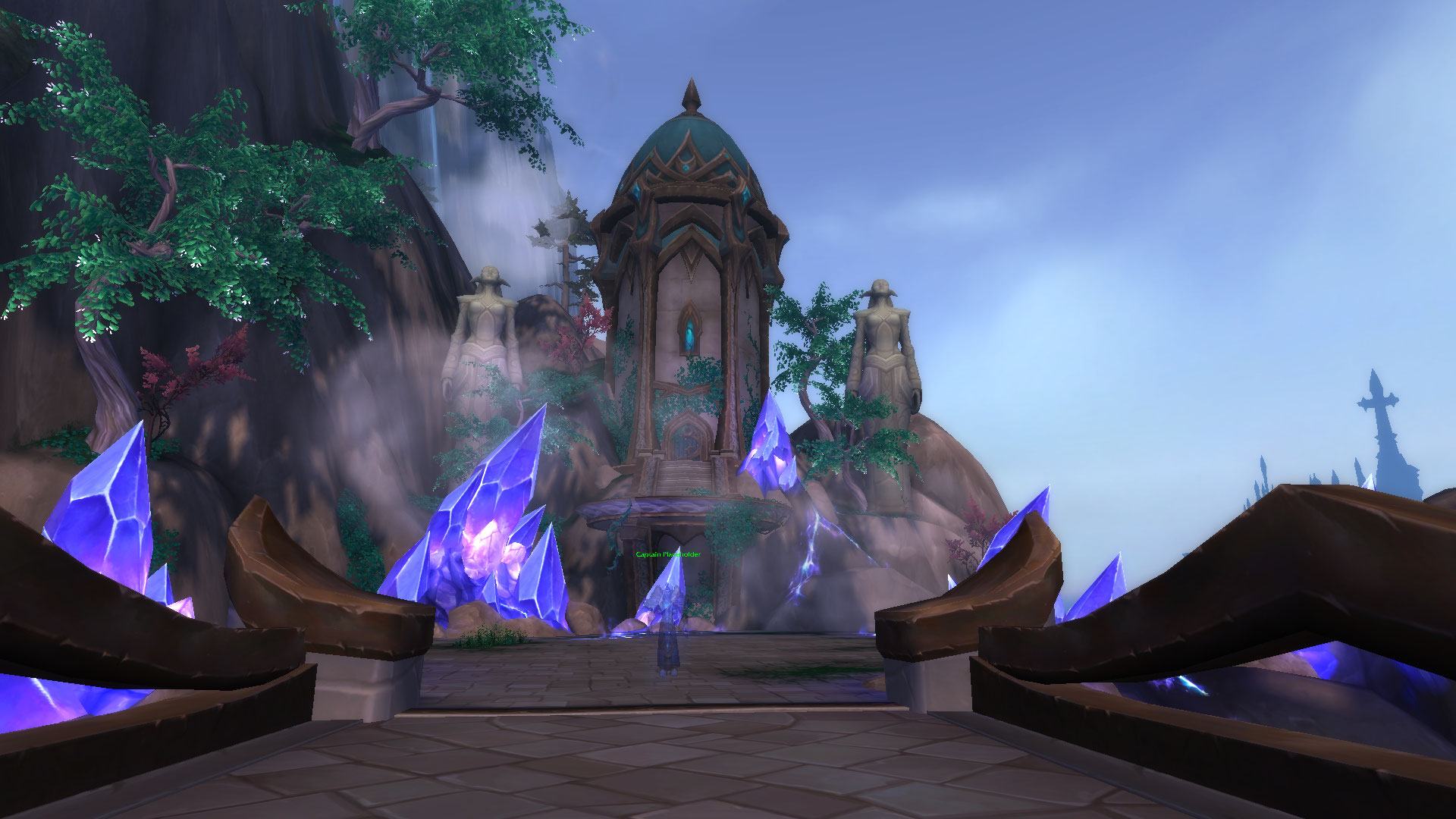Captain Placeholder At Moon Guard Stronghold Blizzplanet Warcraft
