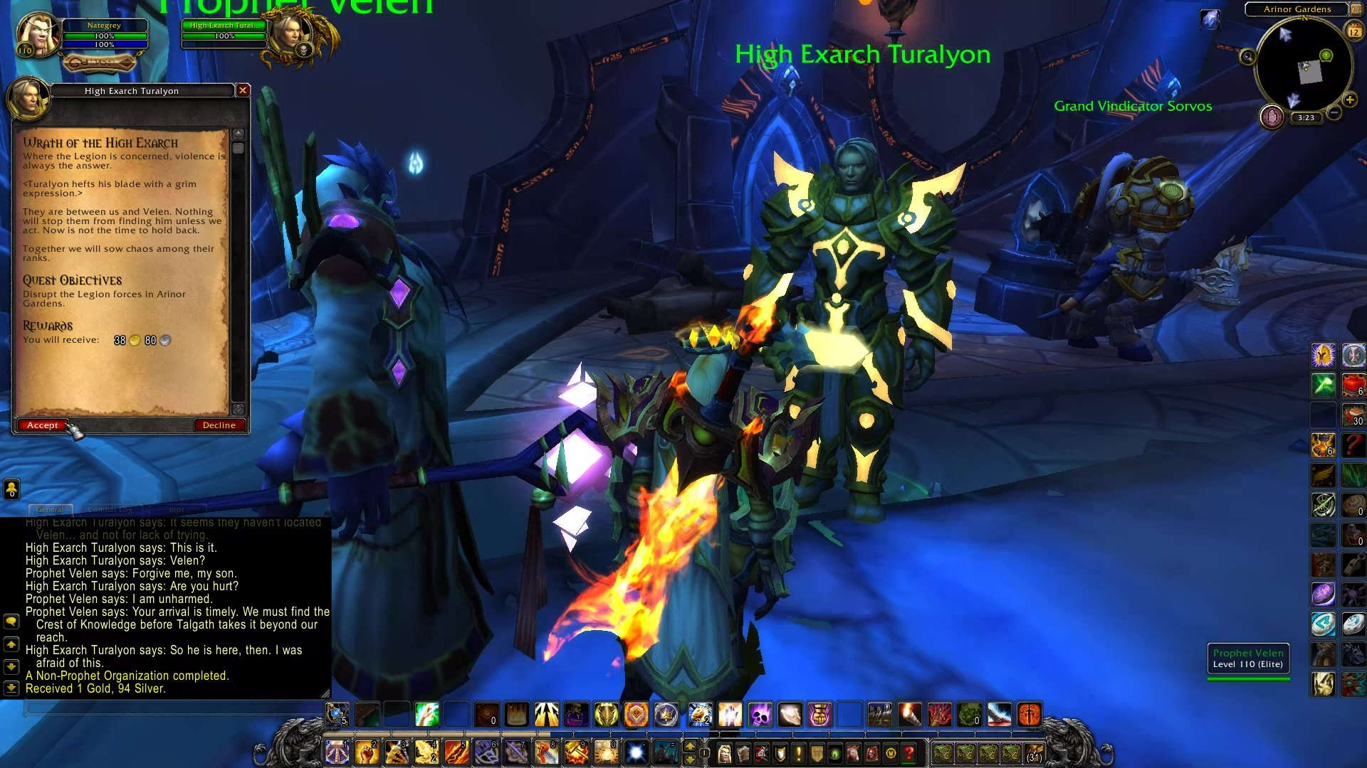 Wrath of the High Exarch