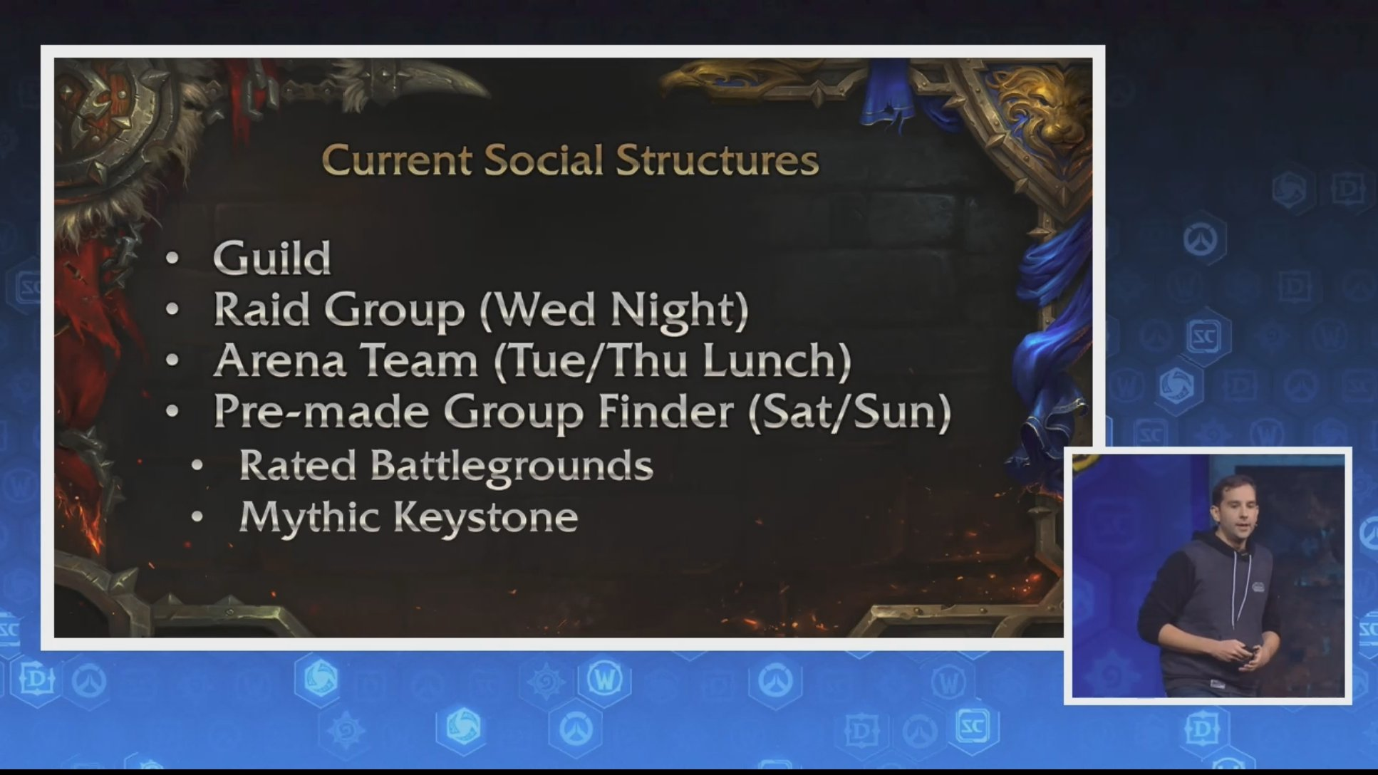 BlizzCon 2017 World of Warcraft: Gameplay and Systems Panel