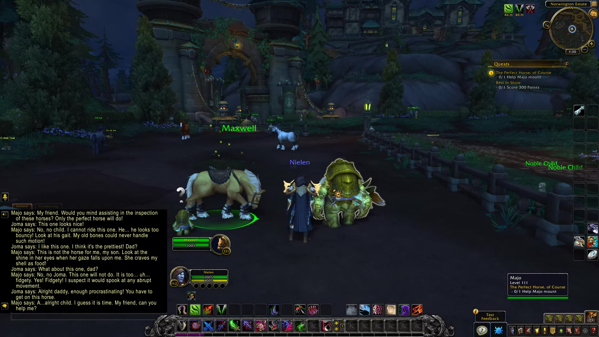 The Perfect Horse Of Course Blizzplanet Warcraft