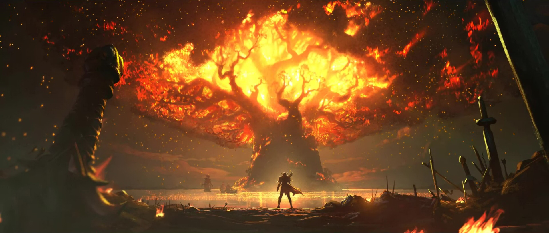 Pre-Battle for Azeroth: The Burning of Teldrassil (Horde)
