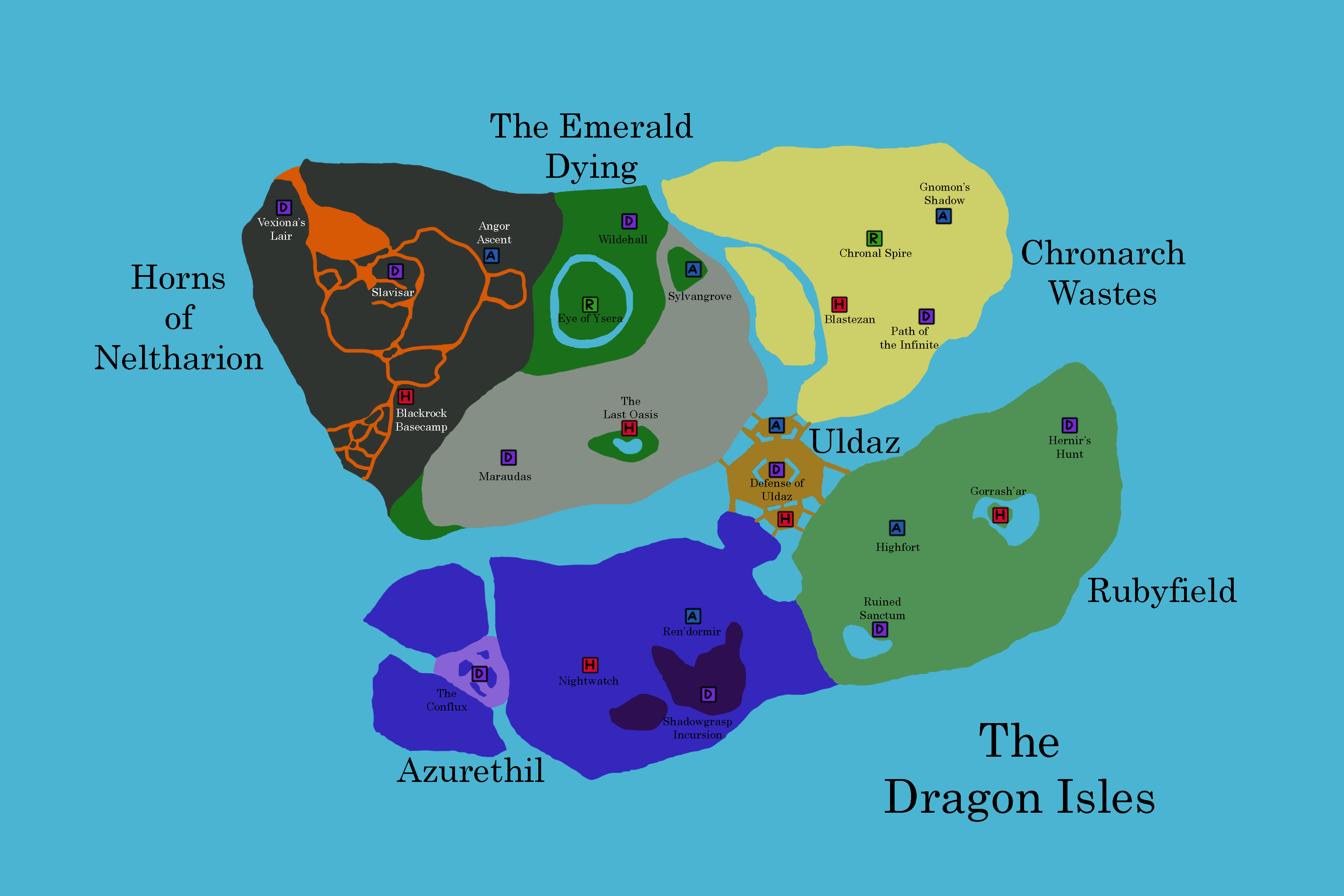 Dragon Isles Expansion Concept