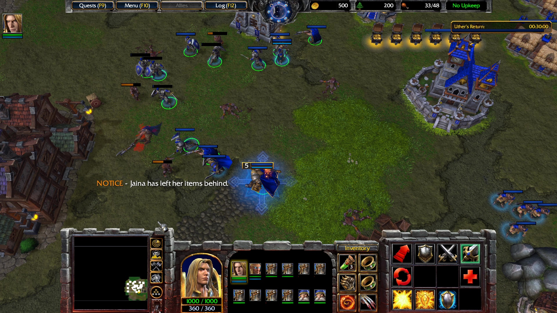 March Of The Scourge Warcraft Iii Reforged