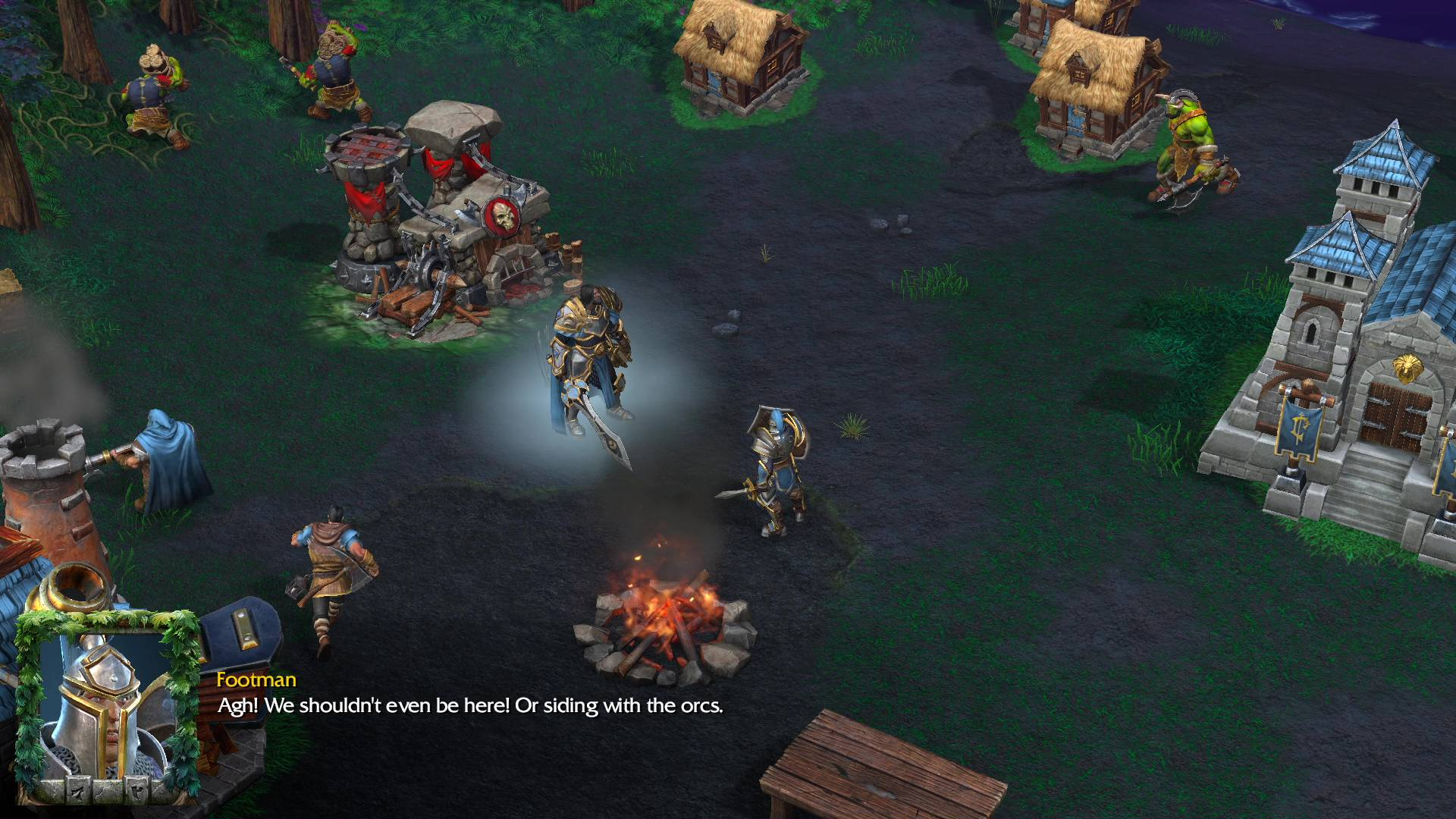 Enemies At The Gate Warcraft Iii Reforged